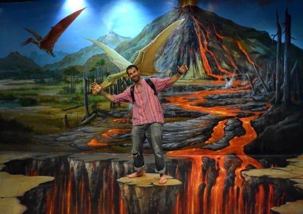 Art in Paradise 3D Art Museum Chiang Mai Waterfall Bridge