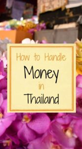 How to Handle Money in Thailand Tips