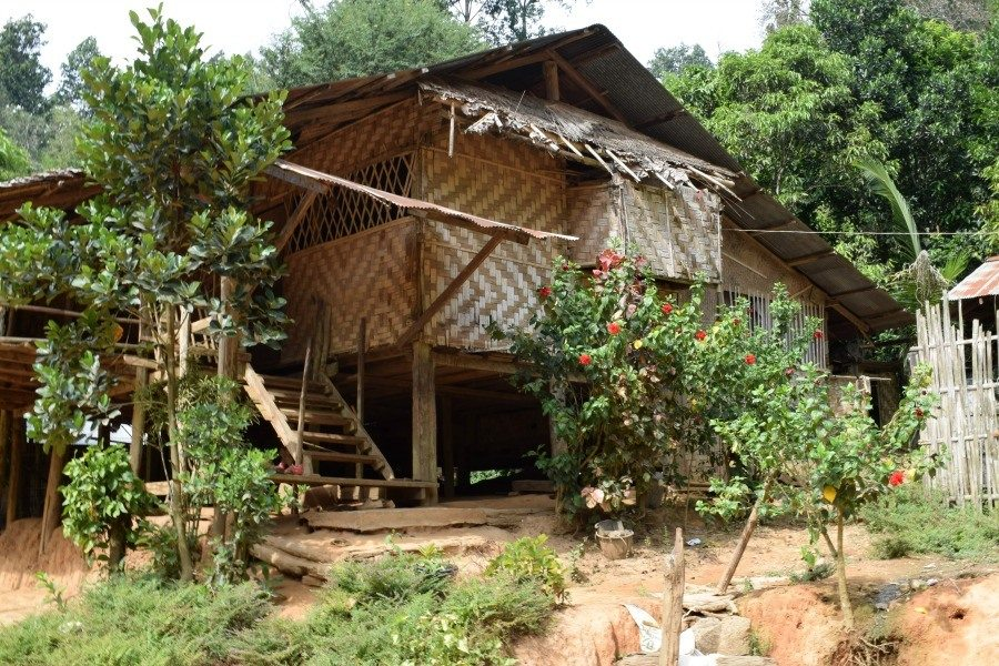 Long Neck Karen Villge House near Mae Hong Son