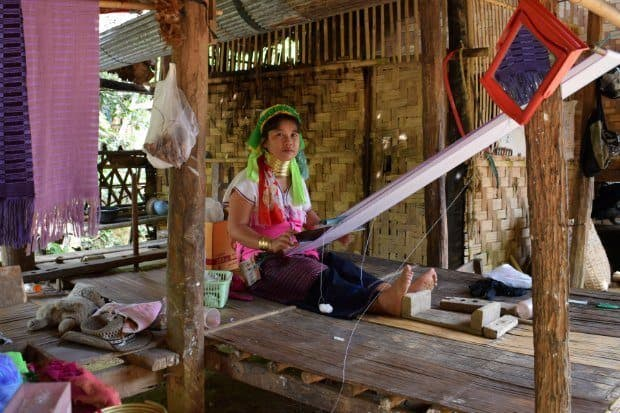 Visiting Long Neck Karen Tribe Northern Thailand
