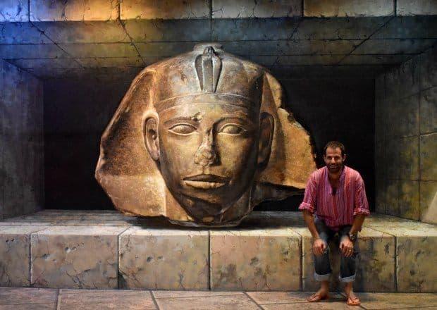 3D art ancient egypt thailand