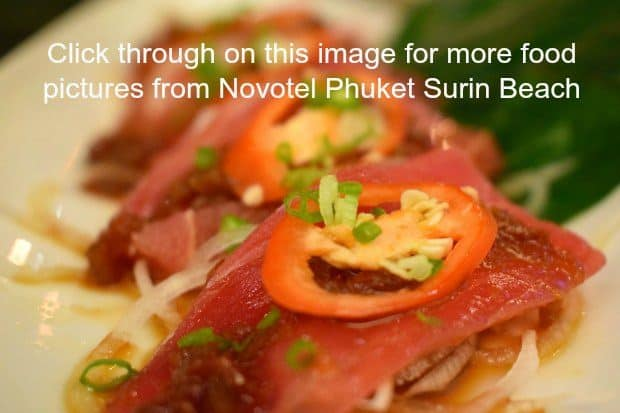 Food Novotel Phuket Surin Beach