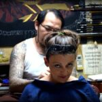Getting a sak yant in Thailand for women