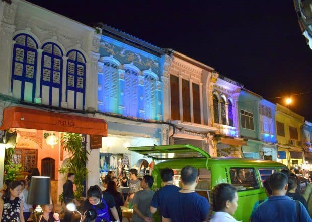 Night market Phuket old town