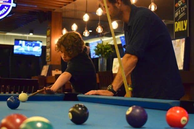 Phuket Novotel Surin Free Pool Table