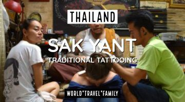 Sak Yant Traditional Tattoo Thailand
