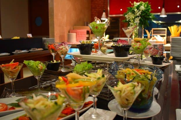 dining at Phuket Novotel Surin Beach