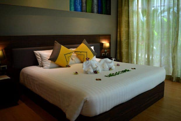 rooms at novotel phuket karon beach review