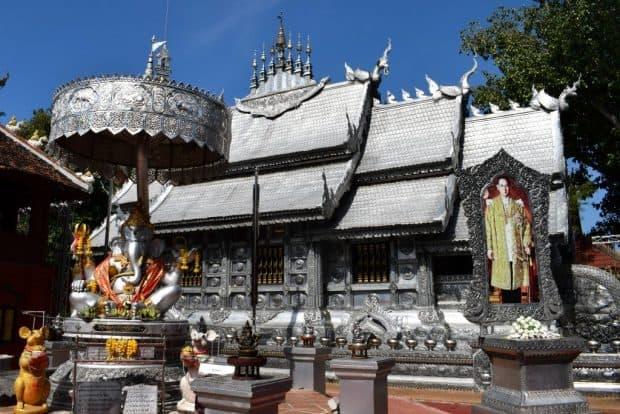 Chiang Mai Thailand Silver Temple