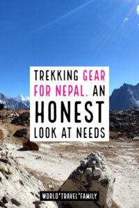 Trekking Gear For Nepal