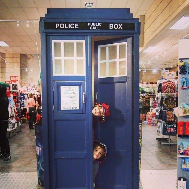 Doctor Who TARDIS London