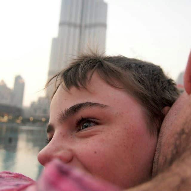 Burj al Arab with kids