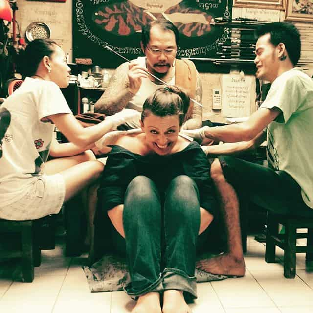 Tattoo age 50 woman.