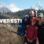 The Trek from Lukla to Tengboche Monastery with my 11 Year-Old