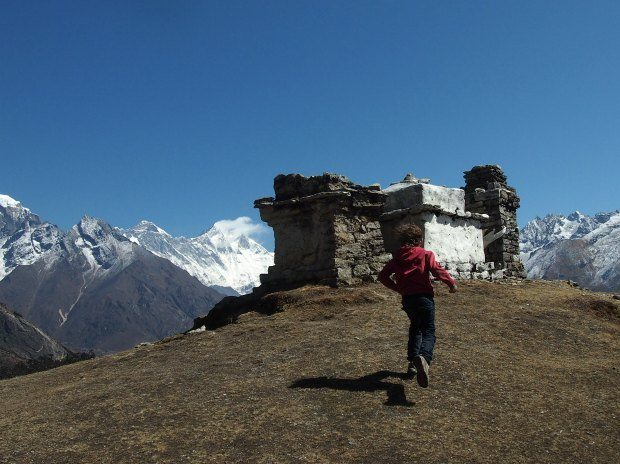 Namche Bazaar to Kumjung Trek Views
