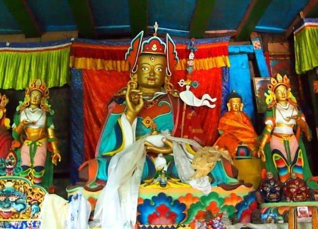 Khumjung Monastery Inside
