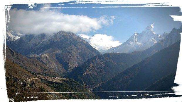 tengboche and everest trail