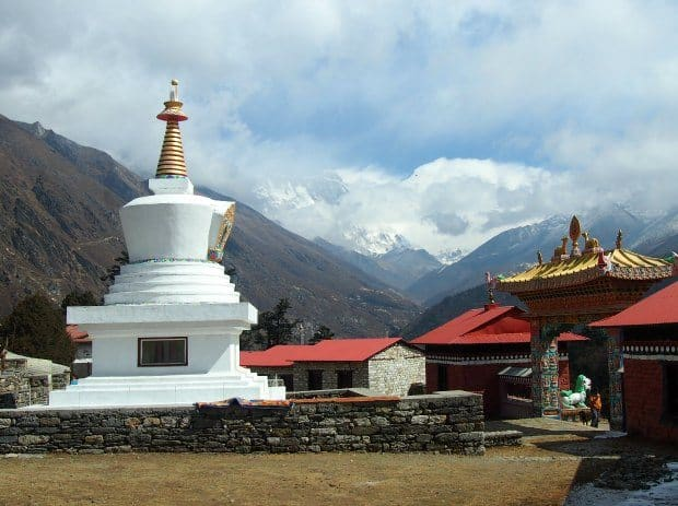 tengboche monastery trek everest view
