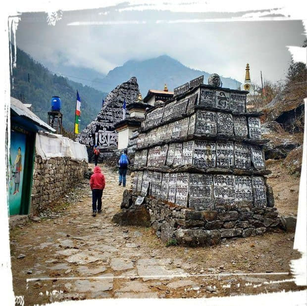 trek pakding to namche bazaar everest nepal