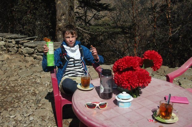 at tengboche 11 years old