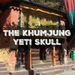 Khumjung. The Yeti Skull at Khumjung Monastery & The Hillary School, Nepal