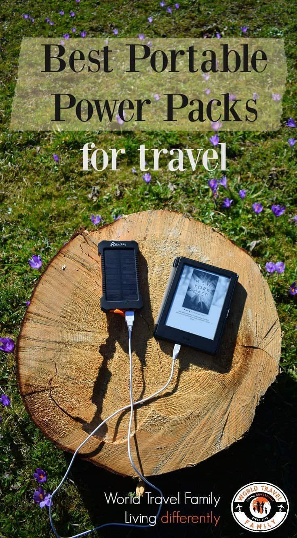 Best Portable Power Packs for travel