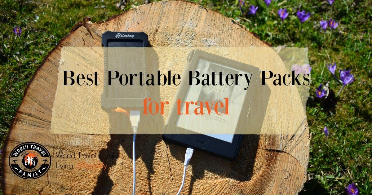 5 Best Portable Battery Packs for Travel – World Travel