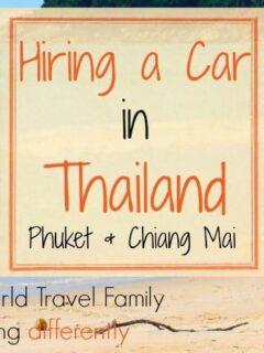 Car rental in Thailand, Phuket and Chiang Mai