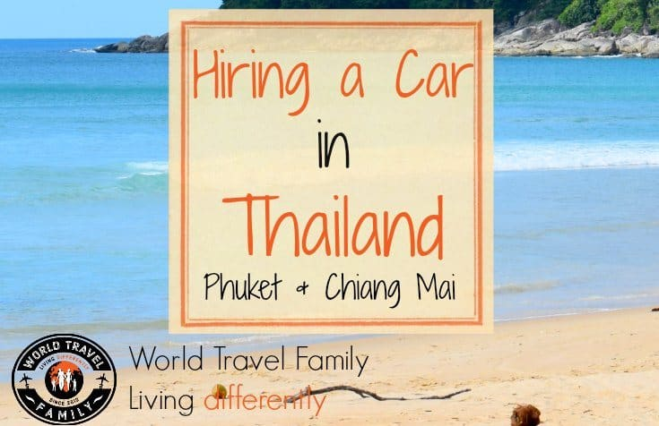 Car rental in Thailand, Phuket and Chiang Mai