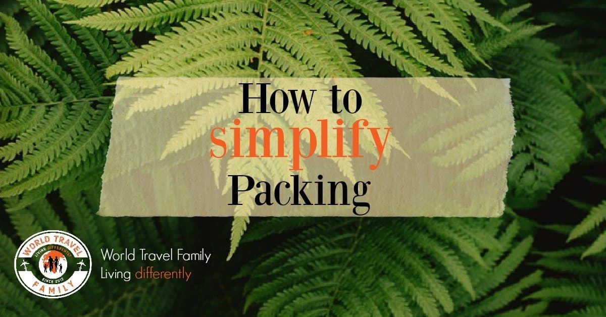 How to simplify packing