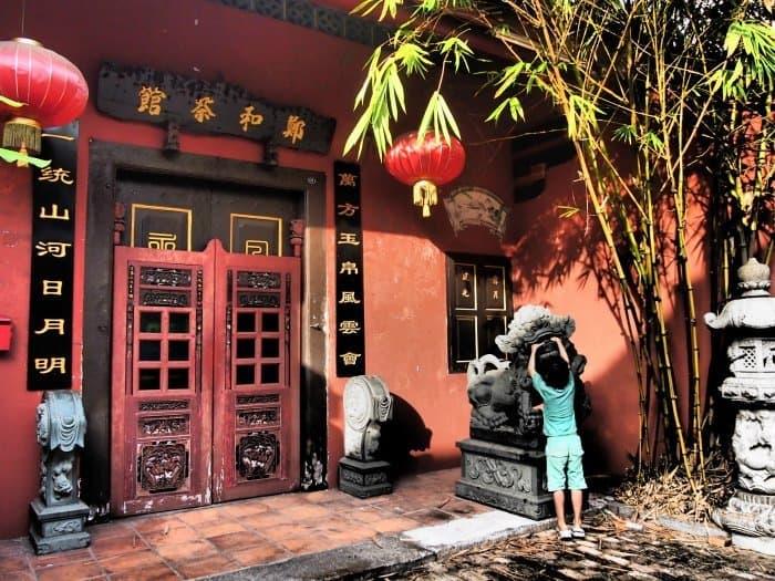 Melacca Malaysia Red Doors