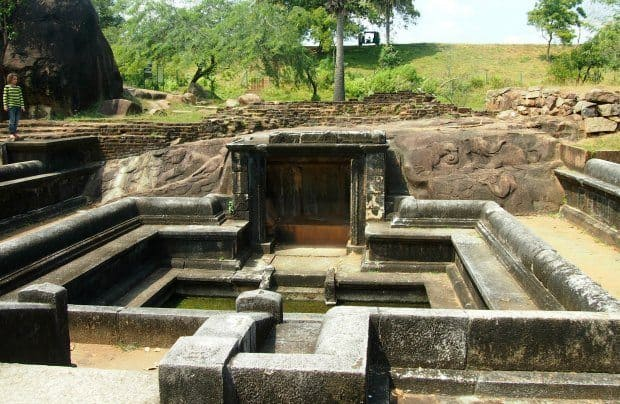 anurdharapura Sri Lanka King's Bath