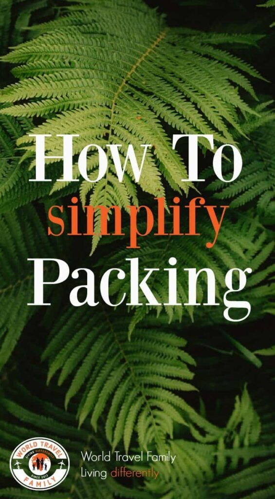 how to make packing simple