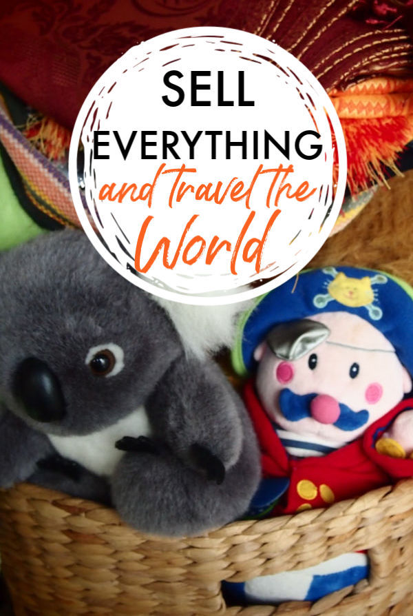 sell everything and travel the world