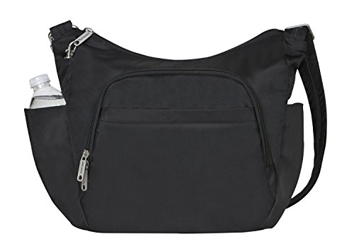 anti theft travel bag with water bottle pocket