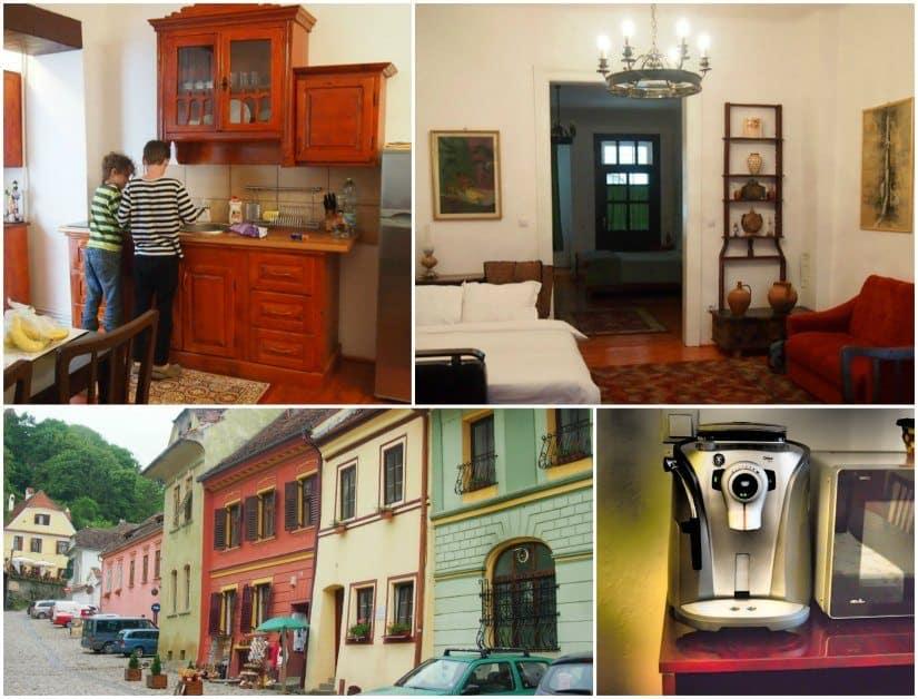 Ancient architecture of Sighisoara,Transylvania