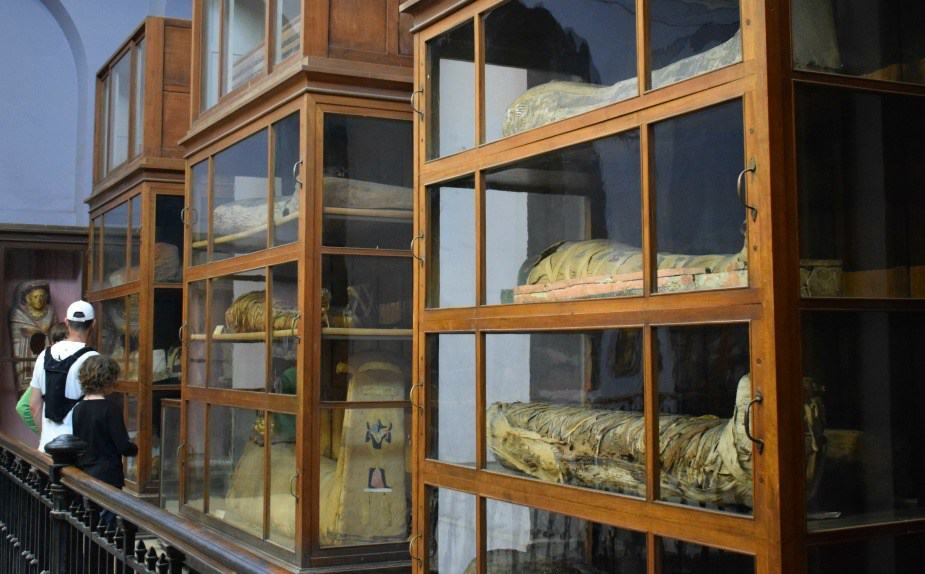 Mummies at the Egyptian Museum, Cairo