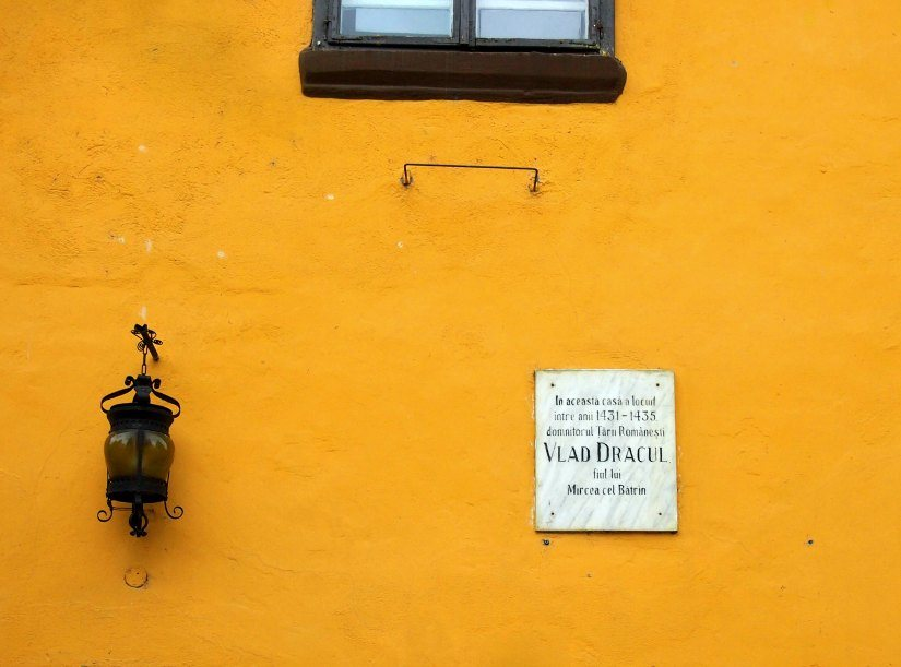 Birthplace of Vlad Dracul Dracula Romania Sighisoara