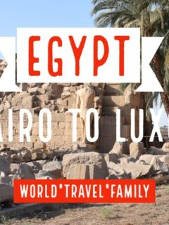 Egypt Cairo to Luxor