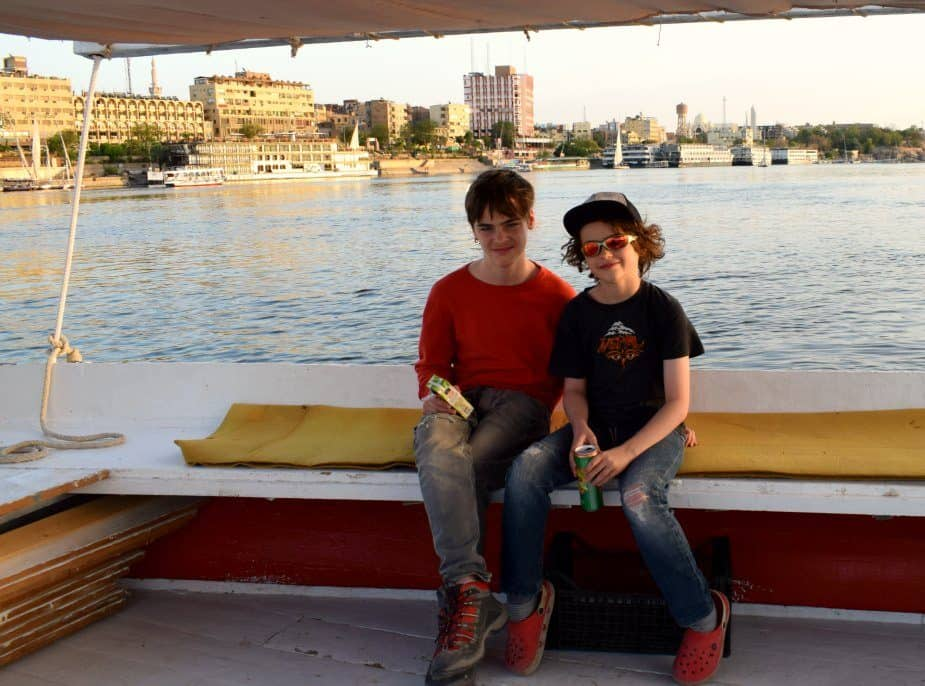 Felucca Sailing on the Nile. Disasters 1 and 2.