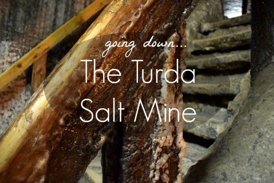 Going Down the Turda Salt Mine