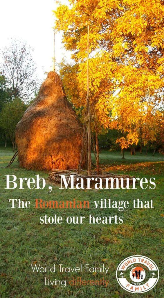 Most beautiful Romanian village Breb Maramures