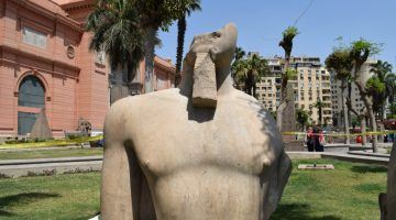 New Statue 2015 discovered Cairo Museum