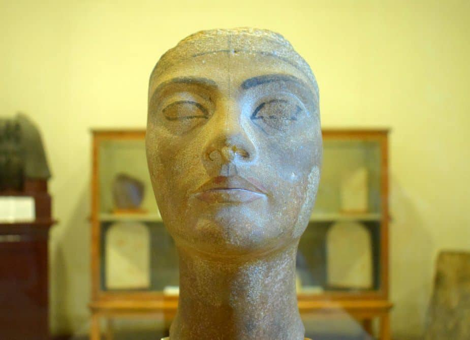 Queen Nefertiti at the Egyptian Museum