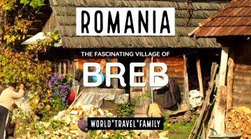 Romania the village of Breb