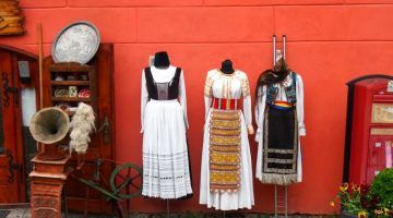 Sighisoara Transylvania Romania shopping