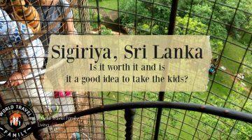 Sigiriya, Sri Lanka, with kids