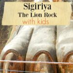 Sigiriya with kids the lion rock sri lanka