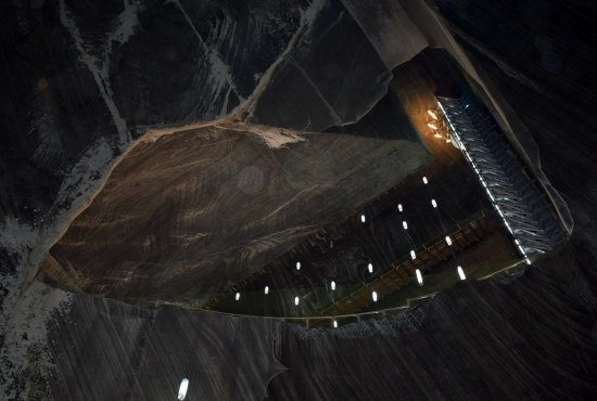 What's inside the Salina Turda in Transylvania