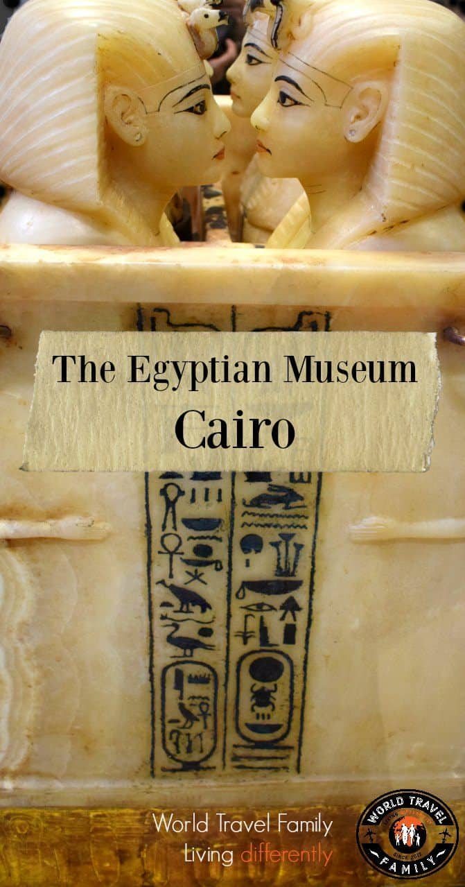 Visiting the Egyptian Museum Cairo with kids
